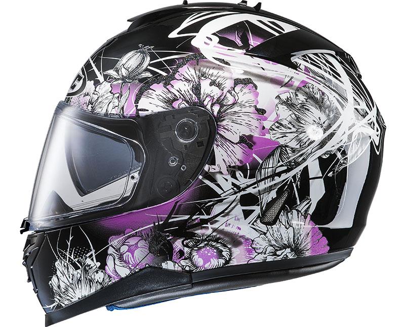Full face helmet HJC IS17 Barbwire MC31