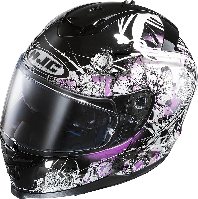 Full face helmet HJC IS17 Barbwire MC31