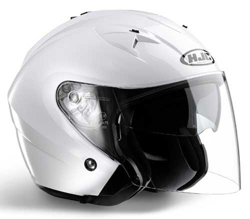 HJC IS33 jet helmet White