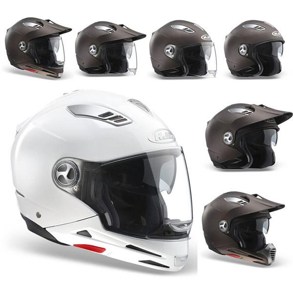 HJC ISMULTI flip off helmet all in one White