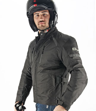 Oj Unstoppable motorcycle jacket 4 seasons black