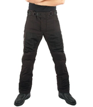 Oj Revenge P motorcycle pants double layer black