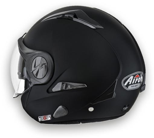 Airoh J-107 Color jet helmet matt black