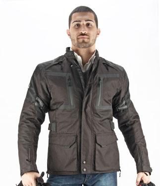 OJ Elite motorcycle jacket 4 seasons black