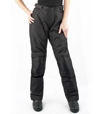Pantaloni moto donna OJ Riderpant Lady 4 stagioni neri