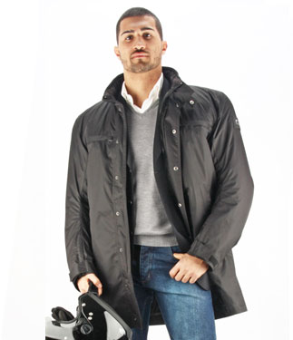 Oj Boulevard motorcycle jacket 4 seasons balck