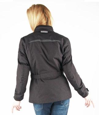 Oj Spirit Lady motorcycle jacket 4 seasons black