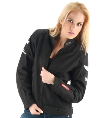 OJ Skill Lady  motorcycle jacket duouble layer black