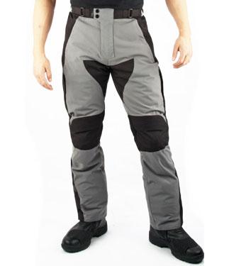 Pantaloni moto Oj Navigator triplo strato grigio- nero