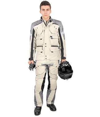 Pantaloni moto OJ Desert Evo nero sabbia