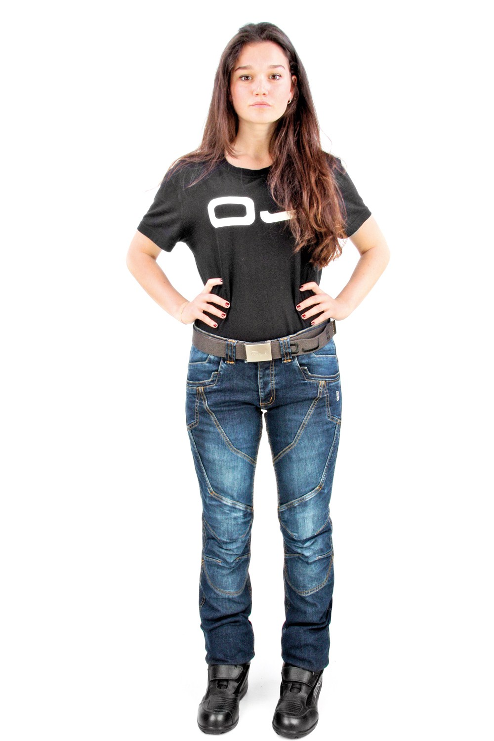 OJ Muscle Lady jeans blue