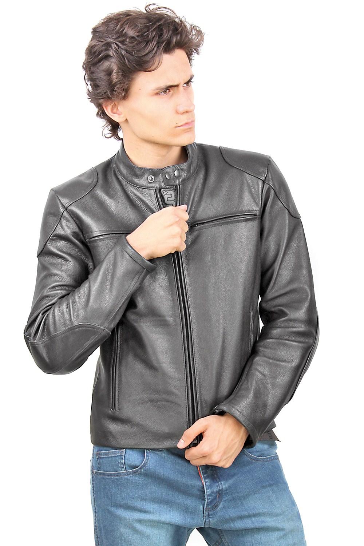 OJ Mirage leather jacket black