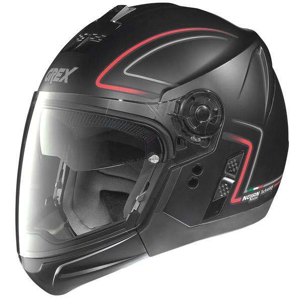 Helmet crossover Grex J2 Pro Loom flat black