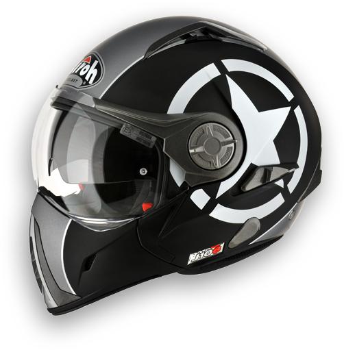 Airoh J-106 Shotr modular helmet black matt