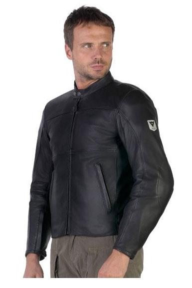 DAINESE Jack Black Leather Jacket