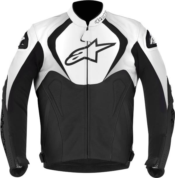 Alpinestars Jaws leather jacket black-white