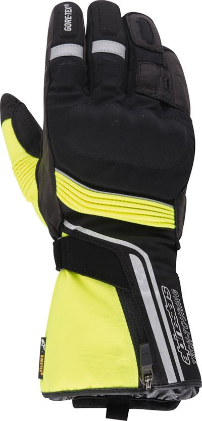 Alpinestars Jet Road Gore-tex 2013 gloves black-yellow fluo