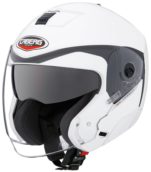 Casco moto Caberg Jet Sintesi bianco