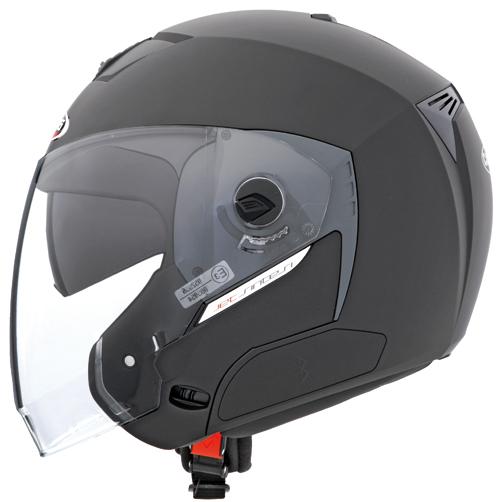 CABERG Jet Sintesi jet helmet col. matt black