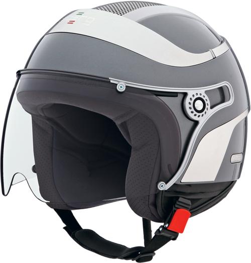 Casco moto Caberg Jet Uno gunmetal