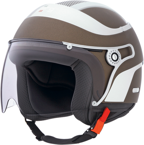 CABERG Jet Uno jet helmet col. matt chocolate