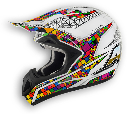 Off road motorcycle helmet Airoh Jumper Multicolor
