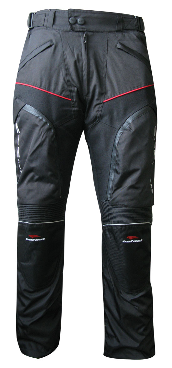 Pantaloni moto donna Befast Multiforce Lady con Air System Nero