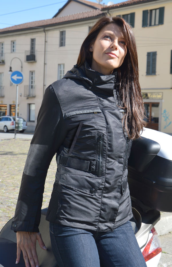 Giacca moto donna Befast Flash Lady