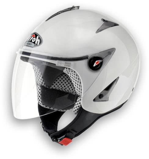 Airoh JT Color urban jet helmet white gloss