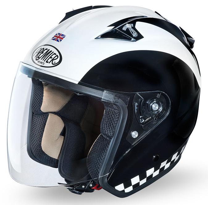 Premier Anniversary JT3 Retrò jet helmet