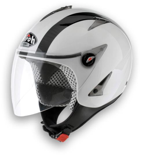 Airoh JT Bicolor urban jet helmet white gloss