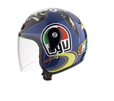 Casco moto Agv Junior Open Top The Donkey