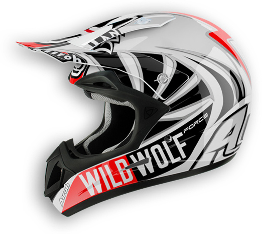 Casco moto off road Airoh Jumper Wild Wolf