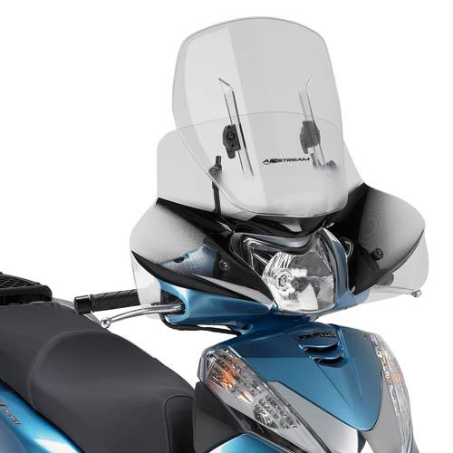 Parabrezza KAF1100 scorrevole AIRSTREAMper Honda SH300i