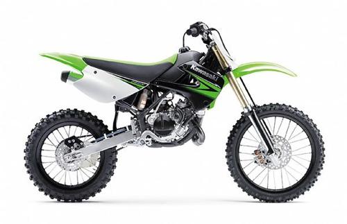 Ufo plastic kits motorcycle Restiled Kawasaki KX 85cc 2010 Black