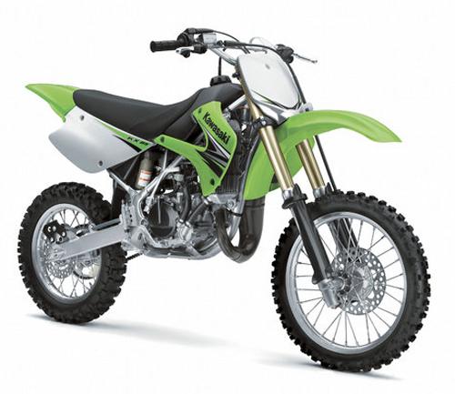 Kit plastiche moto Ufo Kawasaki Restiled KX 85cc 2013 Verde