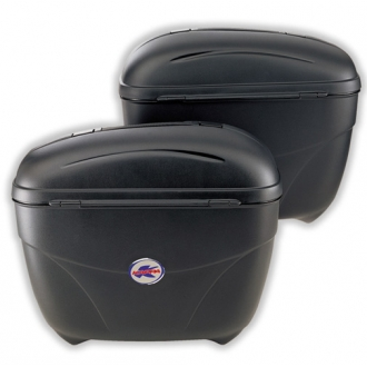 Coppia borse laterali Monokey Kappa K21 Nero