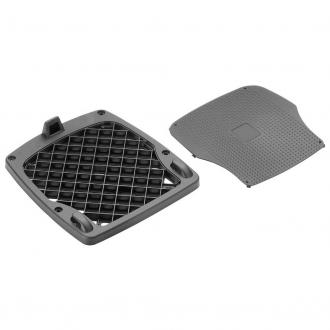 Piastra K609 per valigie Monokey con copripiastra  kit fissaggio