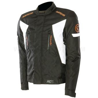 Approved Bering Katana jacket waterproof 3layer Black White Ora