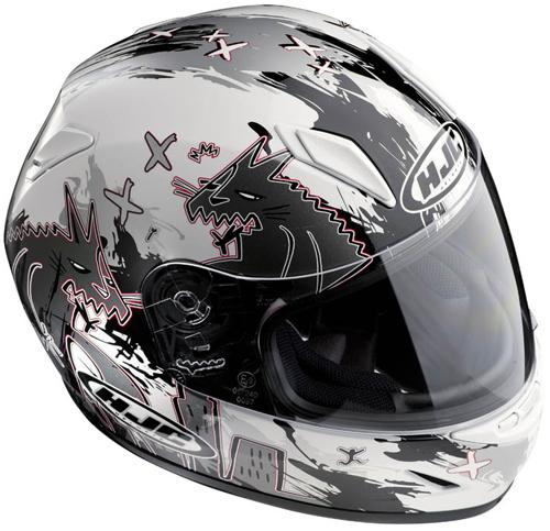 HJC CLY Katzilla MC10 full face kid helmet