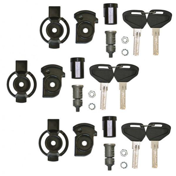 Kit unificazione chiavi per 3 valigie Kappa