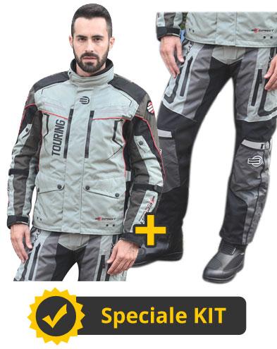 Kit GTX touring - Giacca + Pantaloni 3 strati