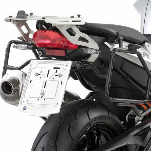 Portavaligie laterale KLR693 per valigie Monokey per BMW F800R