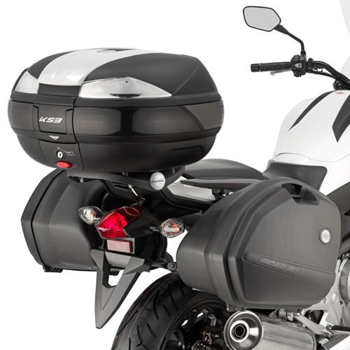 Portavaligie laterale KLX1111 per K33 MONOKEY® SIDE per HONDA NC
