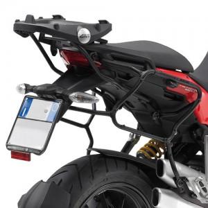 KLXR312 side-case holder for Ducati Multistrada 1200 tubular