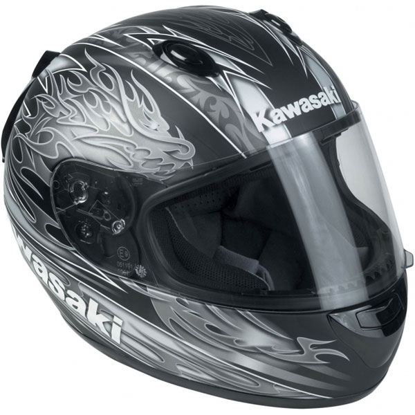 HJC Kawasaki Kninja Dragon MC5F full face helmet