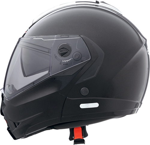 Casco moto Caberg Konda nero metalizzato