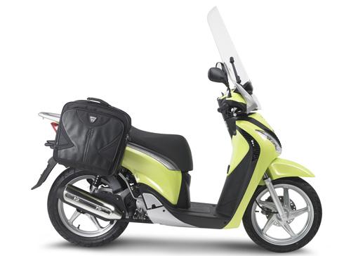Luggage tubular side single Kappa for Honda SH 125i -