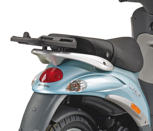 Rear attachment KR103 top box Monokey ® for Piaggio Liber