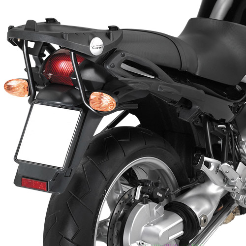 Portavaligia KR683 per BMW R1150R specifico per valigie MONOKEY®
